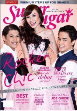 My very fist magazine cover with Sugar Sugar :)