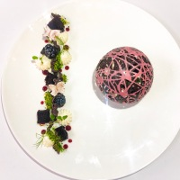 "Chocolate Sphere: ""Enchanted"" Black Forest"