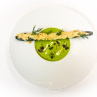 Weekend Special: Chilled Sugar Snap Pea Soup