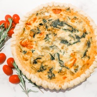 Watch: Our Quick And Easy Homemade Quiche
