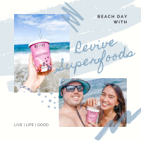 BEach Day with Revive Superfoods
